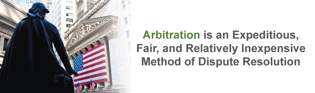 Securities arbitration is an expeditious, fair, relatively inexpensive method of dispute resolution